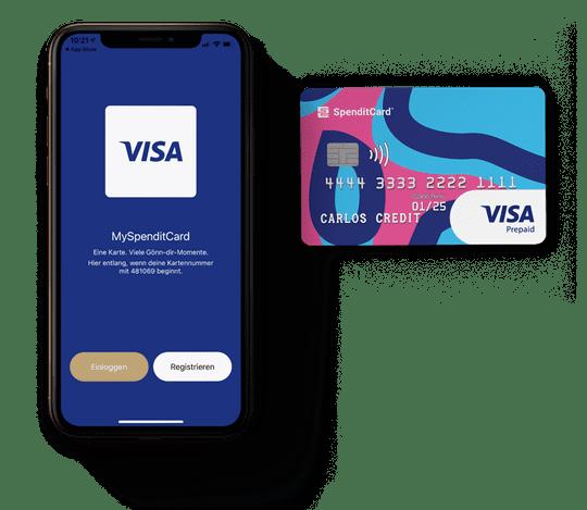 My SpenditCard App und SpenditCard