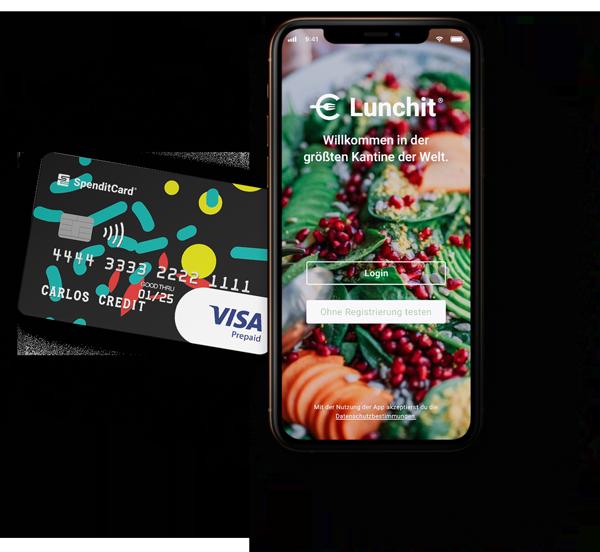 SpenditCard und Lunchit App